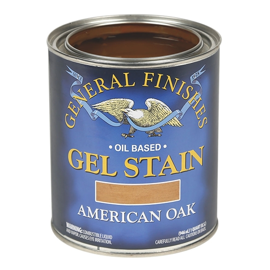 Gel Stain, Oil Based, American Oak, Pint