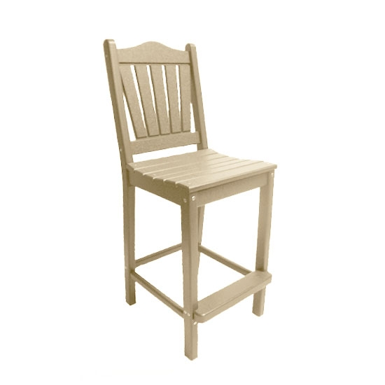TRADITIONAL BAR HEIGHT CHAIR - SANDSTONE