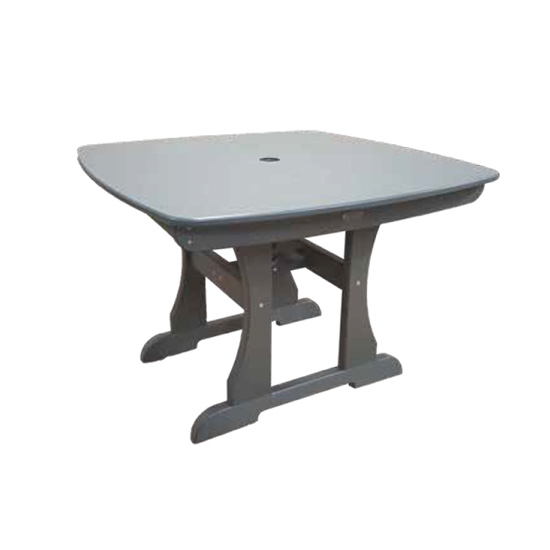 "42"" COUNTER HEIGHT TABLE, GRAY"