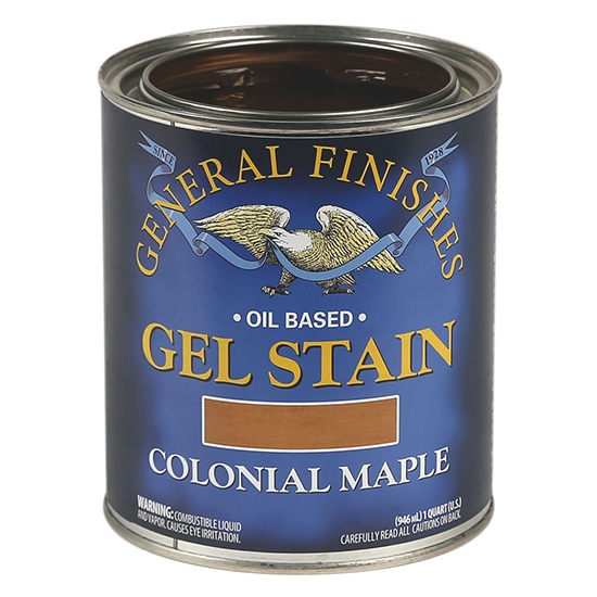Gel Stain, Oil Based, Colonial Maple, Pint