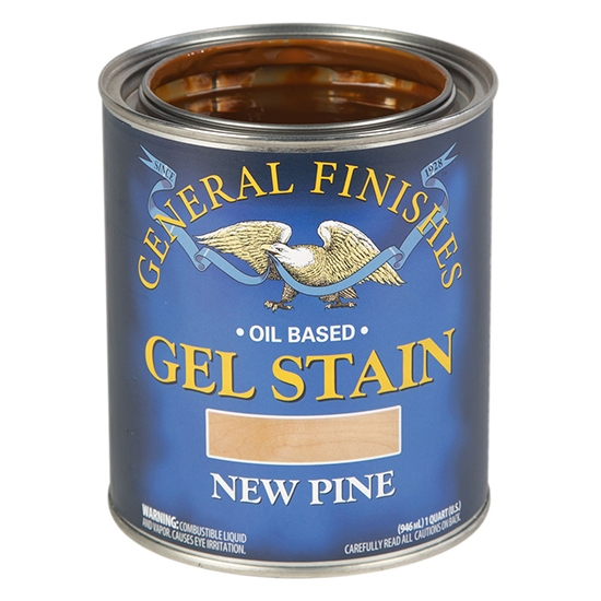 Gel Stain, Oil Based, New Pine, Pint