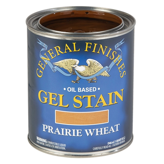 Gel Stain, Oil Based, Prairie Wheat, Pint
