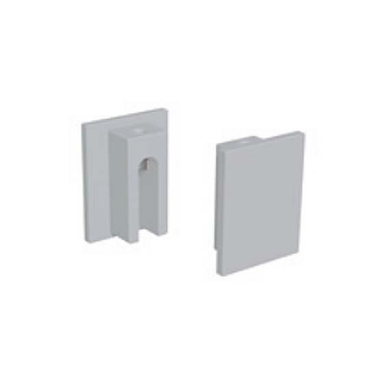End Covers for Ceiling-Mounted Sliding Door Hardware Track