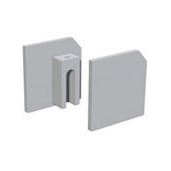 End Covers for Wall-Mounted Standard Sliding Door Hardware Track