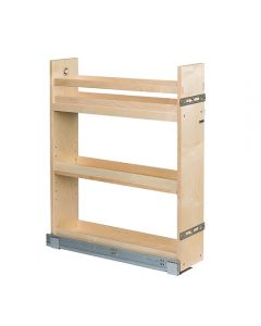 """Cascade Base Cabinet Pull-Out, Edgebanded Baltic Birch  5-1/2""""W x 21""""D x 26-1/4""""H 1"""