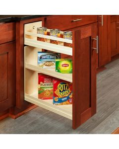 """Cascade Base Cabinet Pull-Out, Edgebanded Baltic Birch  8-1/2""""W x 21""""D x 26-1/4""""H 1"""