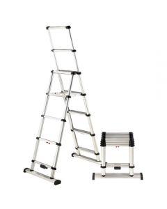 Telesteps 12' Climbing Height Telescopic Combination Ladder, 375 Pound Capacity, Type 1AA