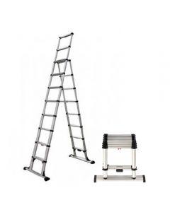 Telesteps 14-Ft Climbing Height Telescopic Combination Ladder, 375 Lb. Capacity, Type 1AA