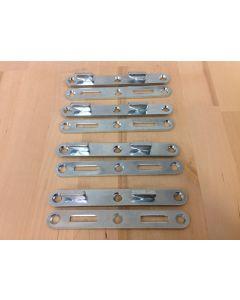"""Bed Rail Fasteners 5/8\"""" W x 4-15/16\"""" Long, Heavy Duty"""