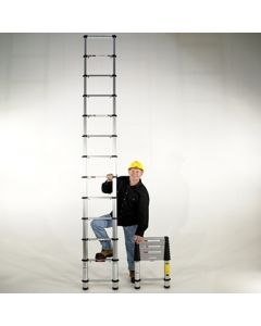 Telesteps 18-Ft. Professional Telescopic Extension Ladder, 300 Lb. Capacity, Type 1A