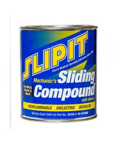 Slipit Sliding Compound With Silicone, quart
