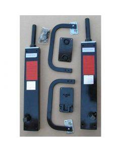 Horizontal Descending Platform Beds Hardware Kit, 54 inch, Double or Queen Bed,