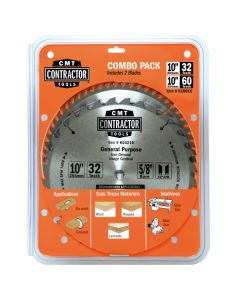 ITK Contractor Combo Pack including 2 Blades for General Purpose & Finishing