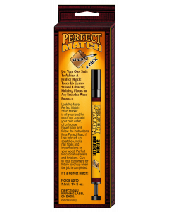Perfect Match Stain Marker - 4 Pack - Holds 7.5ml, 1/4 fl oz.