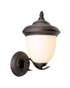 Trevie Outdoor Uplight Oil Rubbed Bronze