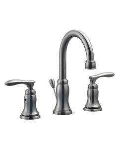 Madison Wide Lav Faucet Satin Nickel