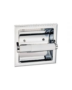 Millbridge Recessed Tp Holder Polished Chrome