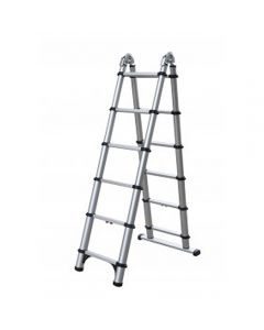 Telesteps 6-Ft Step, 12-Ft Extension Telescopic Combination Ladder, 250 Lb. Capacity, Type 1