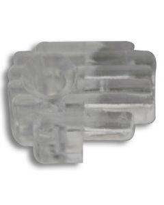 Mirror Clip Clear 1/4in