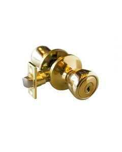 Terrace Half Moon Entry Polished Brass  6-Way View Pack