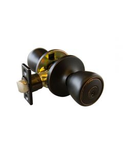 Terrace Half Moon Entry Oil Rubbed Bronze  6-Way View Pack