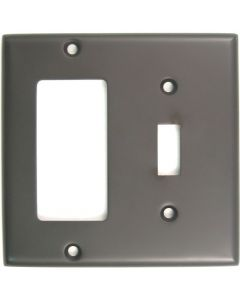 Oil Rubbed Bronze Double Rocker/Switch Switchplate