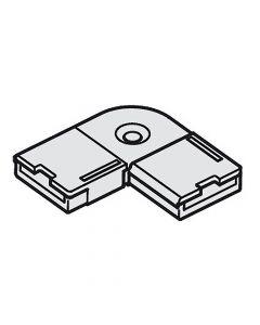 Corner Connector For Loox LED RGB Strip Lighting, Rigid, 2.5A