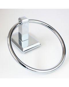 Utica Chrome Towel Ring