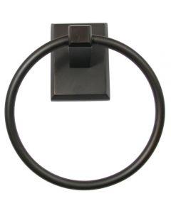 Utica Oil Rubbed Bronze Towel Ring