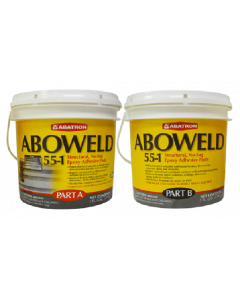 Aboweld 55-1 Concrete Restoration Kit- 1 Quart Resin, 1 Quart Hardener