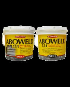 Aboweld 55-1 Concrete Restoration Kit- 1 Quart Resin, 1 Quart Hardener