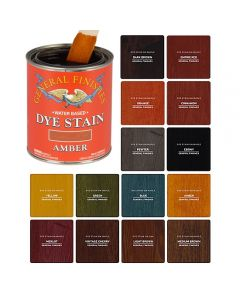 Water-Based Dye Stains, Pint or Quart