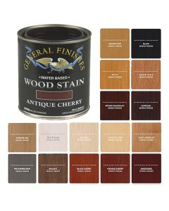 Water-Based Semi-Gel Wiping Wood Stains, Quart