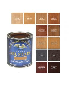 Oil-Based Gel Wood Stains, Quart