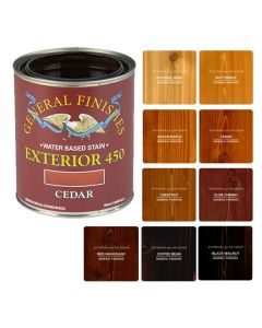 Exterior 450 Wood Stains, Various Colors, Quart