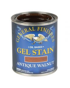 Antique Walnut Oil-Based Gel Stain, Gallon