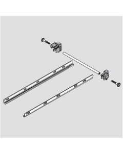 Lateral stabilizer set for TANDEM plus BLUMOTION 563/9 drawer runners