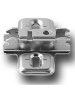 Blum CLIP Hinge Mounting Plate, Wing Mount, 3mm