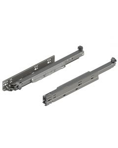 "12"" to 21"" MOVENTO 763 Full Extension Drawer Runners, 125 Lb. Capacity"