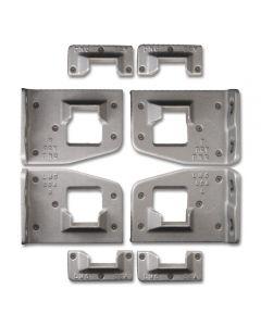 FS07 Standard Bed Frame Hardware Pack