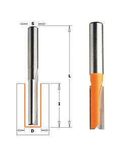 Straight Bit, 1/2-Inch Shank, 1/2-Inch Diameter