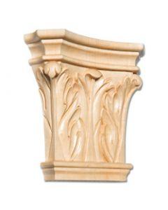 Maple Corinthian Wood Applique