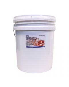Wood Glue, Extended Open Time, White, 5-Gallon