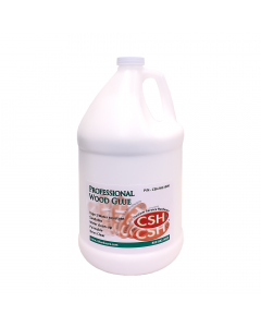 Wood Glue, Type 2 Water Resistance, White, 1 Gallon