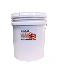 Wood Glue, Type 2 Water Resistance, White, 5 Gallon