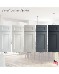 Denali Painted Assembled Cabinet Series by Legend