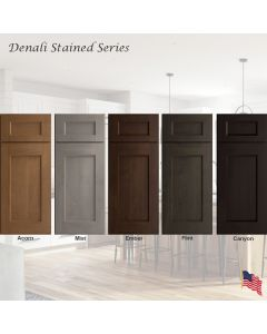 Denali Stained Assembled Cabinet Series by Legend