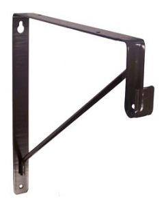848 Shelf & Rod Support For Oval Tube, Oil Rubbed Bronze