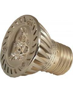 LED Light Bulb for Can Lights, 3 Watts, Medium Base