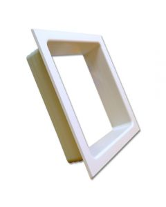 Electric Trim Ring Double White